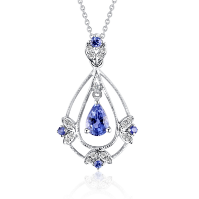PENDANT WITH SAPPHIRE