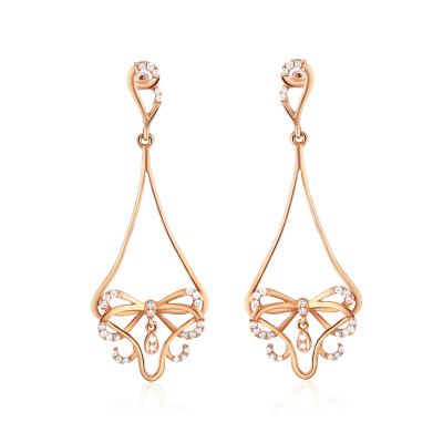 EARRINGS WITH DIAMOND